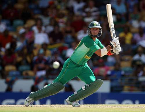 BRIDGETOWN, BARBADOS - MAY 06:  Herschelle Gibbs of South Africa in action during The ICC World Twenty20 Super Eight match between South Africa and New Zealand played at The Kensington Oval on May 6, 2010 in Bridgetown, Barbados.  (Photo by Clive Rose/Getty Images)