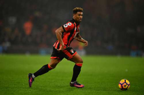 BOURNEMOUTH, ENGLAND - JANUARY 31:  Jordan Ibe of Bournemouth in action during the Premier League match between AFC Bournemouth and Crystal Palace at Vitality Stadium on January 31, 2017 in Bournemouth, England. (Photo by Dan Mullan/Getty Images)