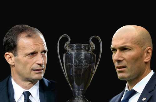 Juventus vs Real Madrid starting lineups comparison Champions League final
