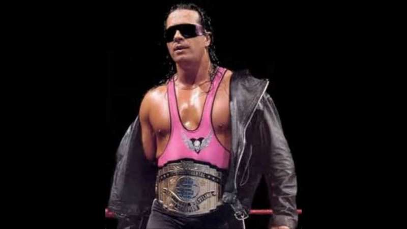 4482316fd5 Bret wasn t supposed to be a crowd-puller in Vince McMahon s circus of  jacked up men
