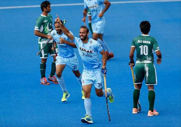 Ramandeep Singh India Pakistan HWL 2017