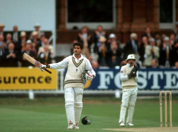 Image result for lords test sourav century