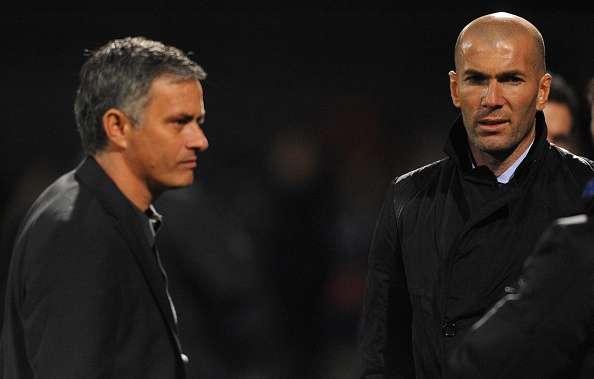 Image result for mourinho zidane united