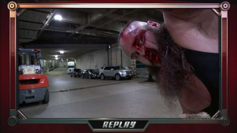 Image result for braun strowman ambulance match