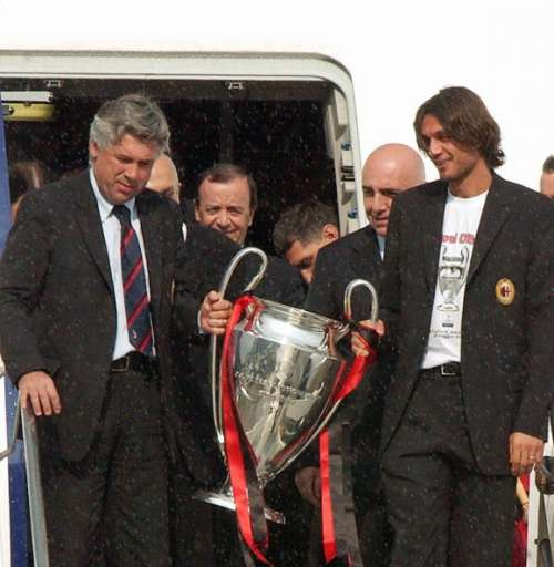 AC Milan Carlo Ancelotti