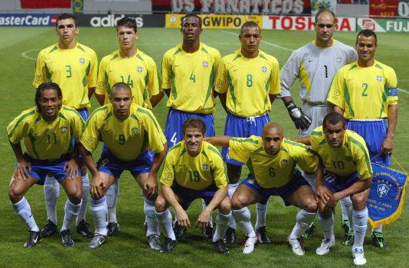 Brazil 2002 World Cup squad