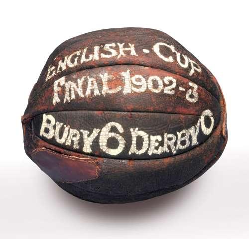 FA Cup Final ball 1903
