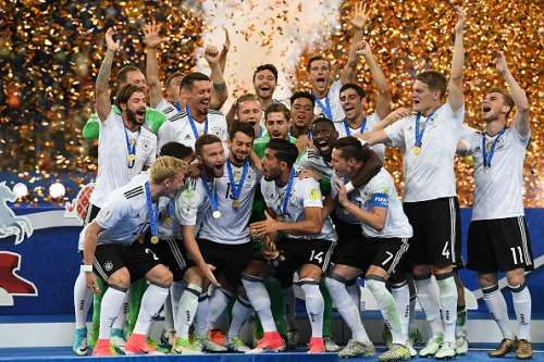 Germany FIFA Confederations Cup 2017 champions
