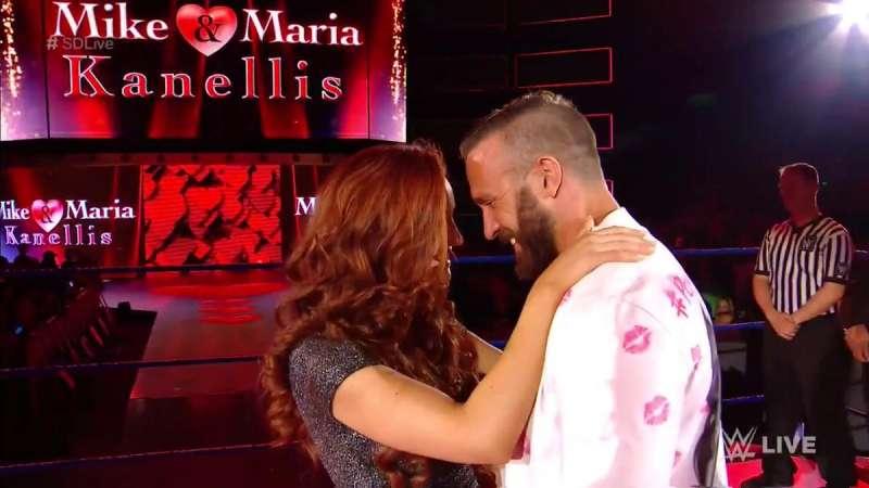 Maria kanellis dating mike bennett