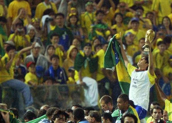 kaka brazil 2002