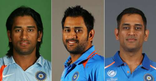 MS Dhoni over the years: The remarkable journey from 2004-2018 in ...