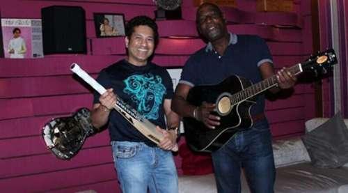 Sachin Tendulkar Viv Richards India West Indies Cricket