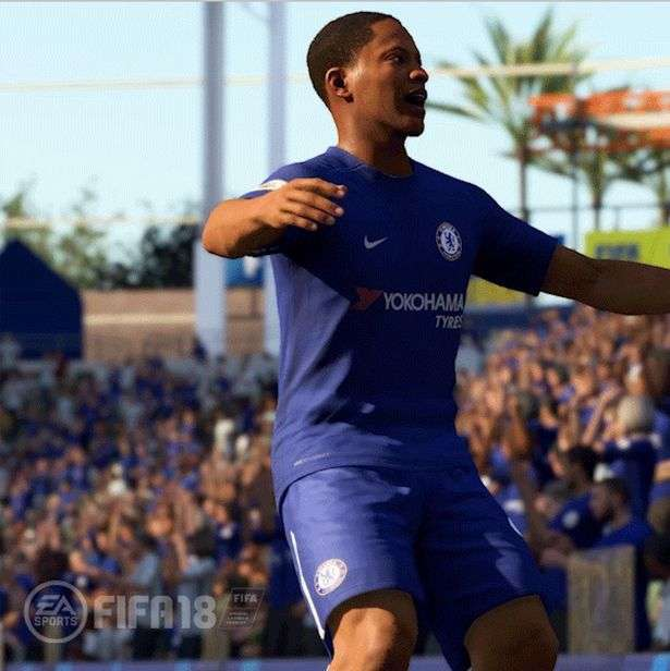 FIFA 18  Alex Hunter reveals the Chelsea s kit for 2017-2018 season 0b8be6a16