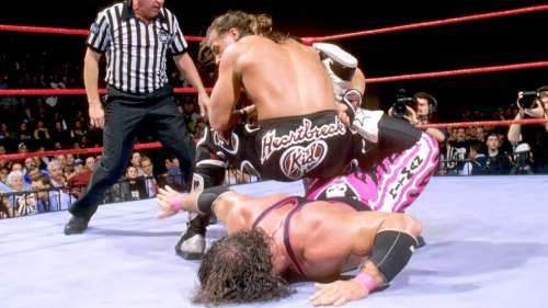 Image result for bret hart survivor series
