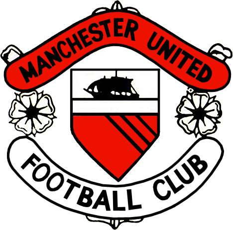 the evolution of the manchester united crest rh sportskeeda com manchester united logo coloring pages manchester united logo history