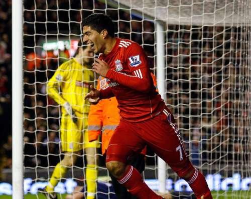 Luis Suarez Premier League debut