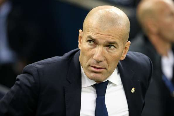 Zidane real madrid surprised