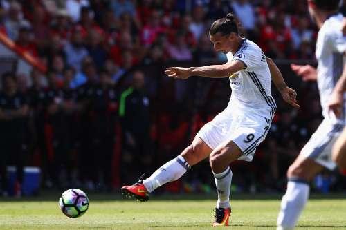 Zlatan Ibrahimovic Premier League debut