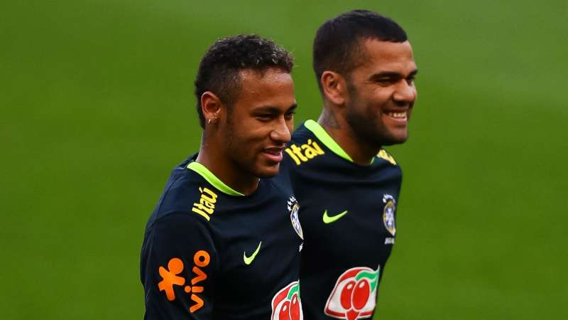 WATCH Neymar And Brazil Star Show Off Samba Skills With Dressing