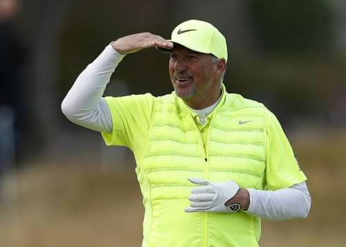 Golf Britain - Alfred Dunhill Links Championship - Old Course St. Andrews, Scotland - 9/10/16 Former England cricketer Ian Botham during the final round. Action Images via Reuters / Lee Smith Livepic/Files