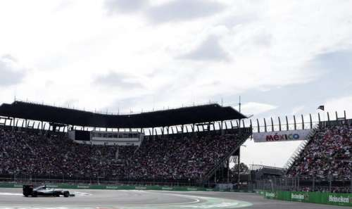 Formula One - F1 - Mexican F1 Grand Prix - Mexico City, Mexico - 30/10/16 - Mercedes' Lewis Hamilton of Britain competes. REUTERS/Henry Romero/Files
