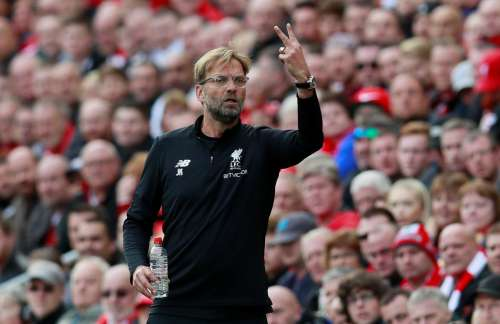 Soccer Football - Premier League - Liverpool vs Burnley - Anfield, Liverpool, Britain - September 16, 2017 Liverpool manager Juergen Klopp Action Images via Reuters/Jason Cairnduff
