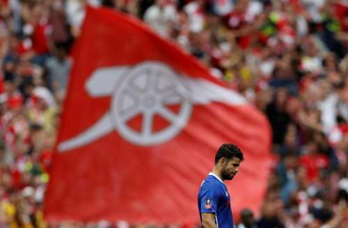 Britain Soccer Football - Arsenal v Chelsea - FA Cup Final - Wembley Stadium - 27/5/17 Chelsea's Diego Costa looks dejected after Arsenal's Aaron Ramsey (not pictured) scores their second goal Action Images via Reuters / Lee Smith/Files