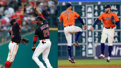 Indians and Astros