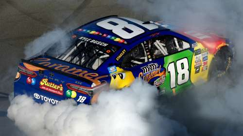 Kyle Busch Toyota Monster Energy NASCAR Cup Series Overtons 400 30072017