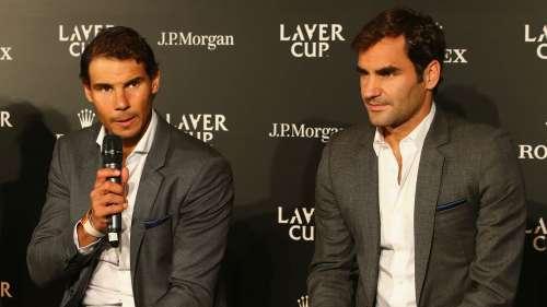 Rafael Nadal Roger Federer - cropped