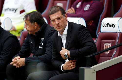 Soccer Football - Premier League - West Ham United vs Swansea City - London Stadium, London, Britain - September 30, 2017 West Ham United manager Slaven Bilic Action Images via Reuters/Paul Childs