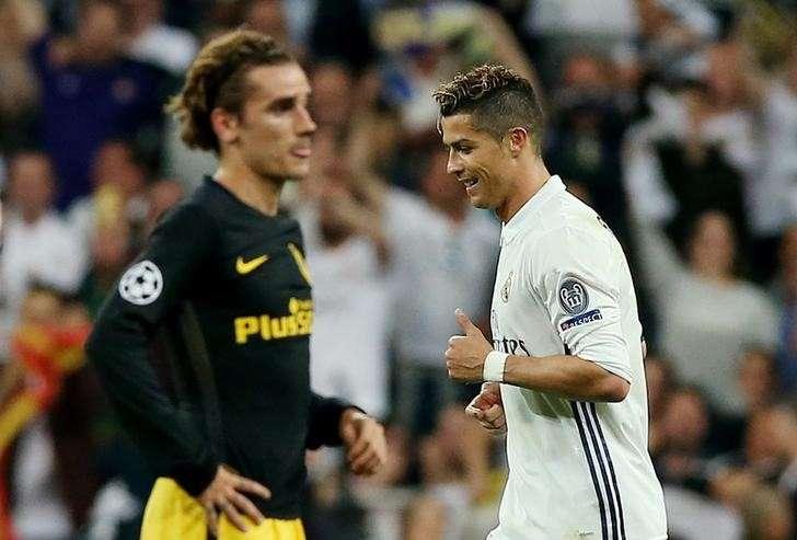 89b660e3b6a00 Football Soccer - Real Madrid v Atletico Madrid - UEFA Champions League  Semi Final First Leg