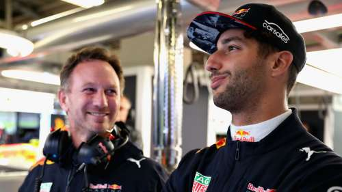 Christian Horner Daniel Ricciardo - cropped