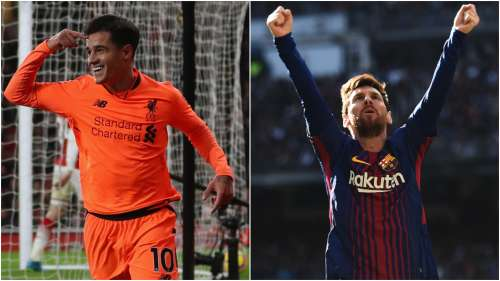 philippe coutinho lionel messi - cropped