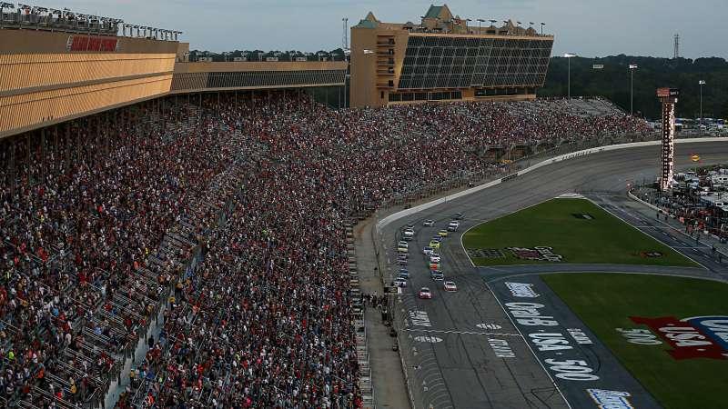 NASCAR at Atlanta: Updated weather forecast, radar for Folds