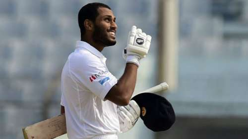 Sri Lanka's Roshen Silva