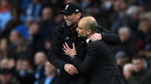 Klopp and Guardiola - Cropped