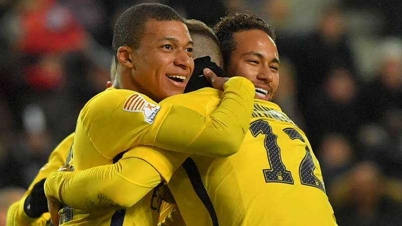 PSG 2017 18 Opta Numbers Show Neymar And Mbappe Arrivals Key To Title Success