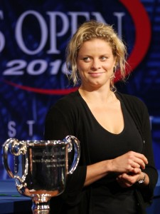 Kim Clijsters will look forward to defending her title at the Open