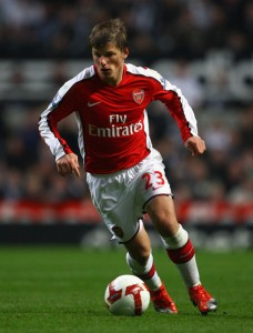Andrey Arshavin did not do much in the match inspite of his stunning record against Liverpool
