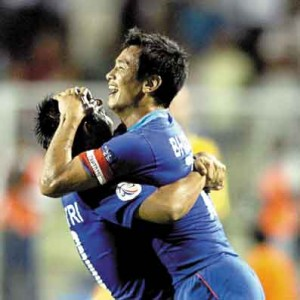 Bhaichung and Sunil Chhetri