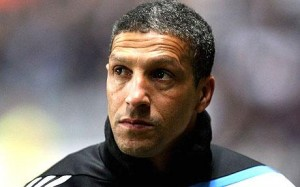 Chris Hughton Manager Newcastle