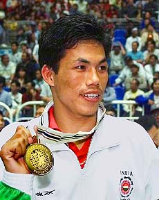 Dingko Singh at Asian Games 1998