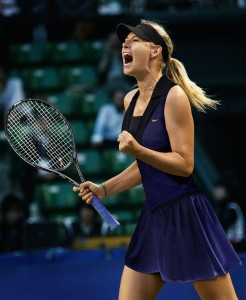 Maria Sharapova is one of the top contenders at the Open