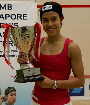 Nicol david World no 1 squash player