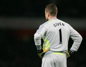 Shay Given: No longer the number 1
