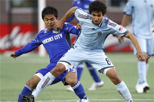 Sunil is getting used to the physical style of play of the MLS