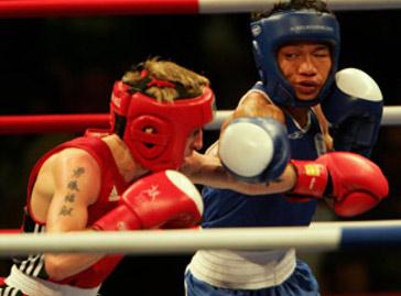 Indian boxer