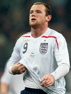 Wayne Rooney sent off!