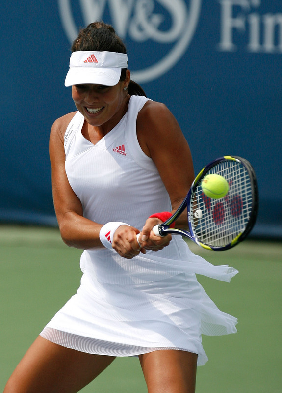 Ana Ivanovic has reached the Quarter Finals of Cincinnati